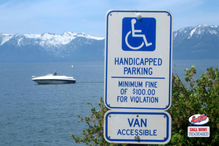 handicap parking laws in california