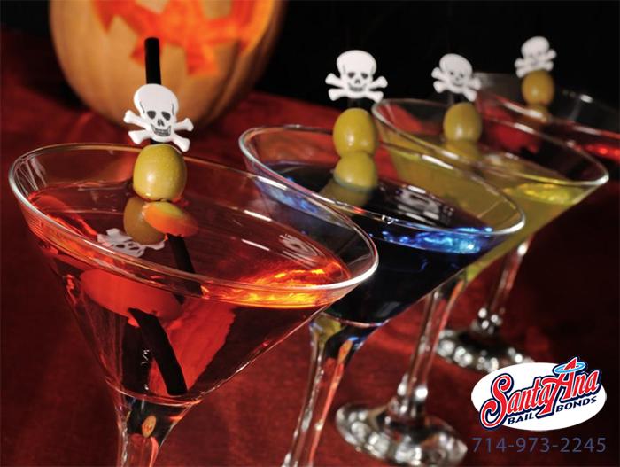 drinking on halloween